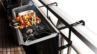 balkon barbecue