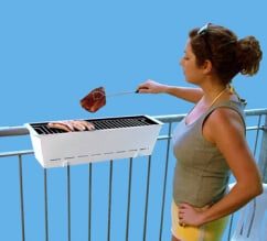 tuin gadget - Bruce grill balkon barbecue