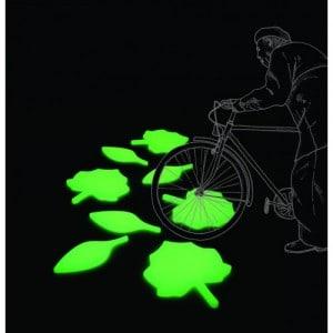 Lichtgevende bladeren als leuke design lamp op je balkon of dakterras