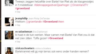 BARTEL VAN RIEL geliefd op twitter