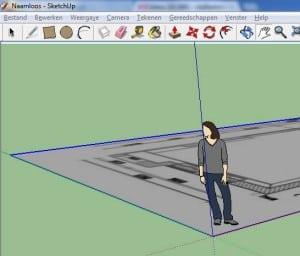 sketchup tuin ontwerpen in 3d