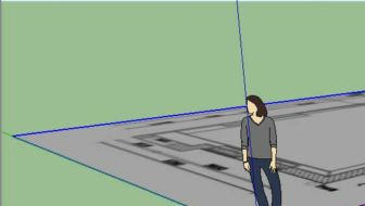 Van plattegrond naar 3D tuinontwerp met SketchUp – deel 2