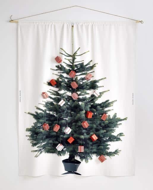 de beste ikea kerstboom voor mensen met een klein huis