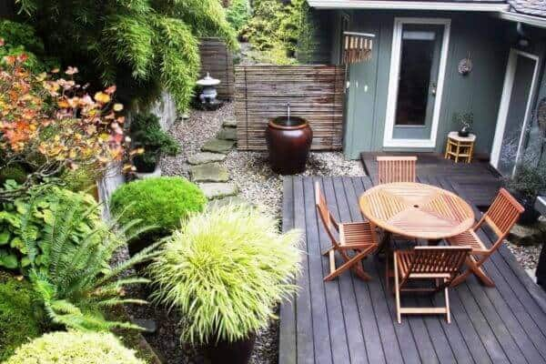 Populair Handige tips voor een kleine tuin, geveltuin of stadstuintje @IN38