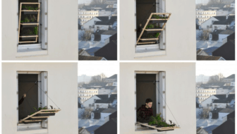 Raamtuin met takel: ruimtebesparend groen in het kwadraat