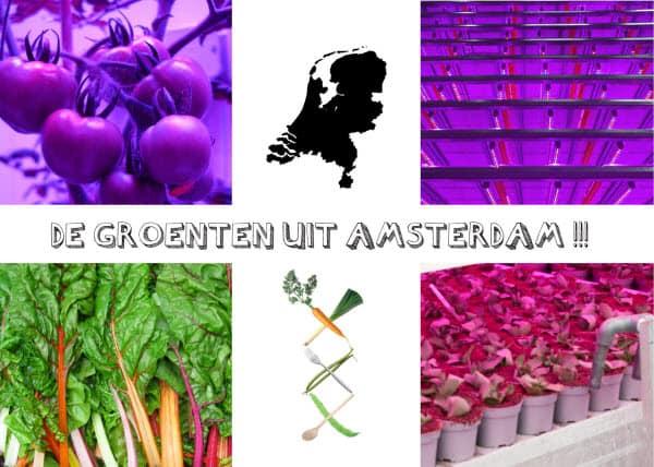 de groenten uit Amsterdam