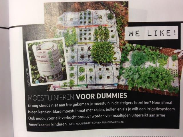 In tijdschrift viva tuin en balkon - Tuin ontwerp tijdschrift ...