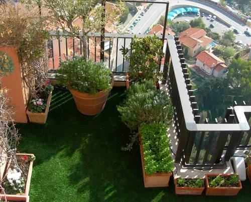 Simpel Balkon Ontwerp : Gras op je balkon tips en alternatieven tuin en balkon
