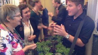 Kruiden proeven en energie uit planten op Tedx Amsterdam