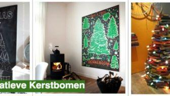 De leukste alternatieve kerstbomen