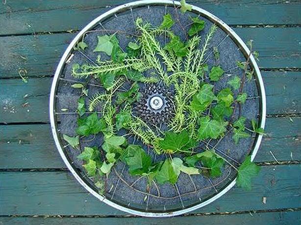 fietswiel-tuin
