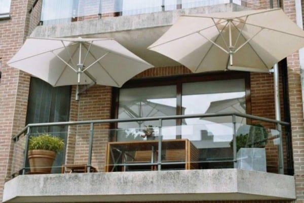 Parasol Voor Balkon.Beste Parasol En Zonwering Voor Op Je Balkon Tuin En Balkon