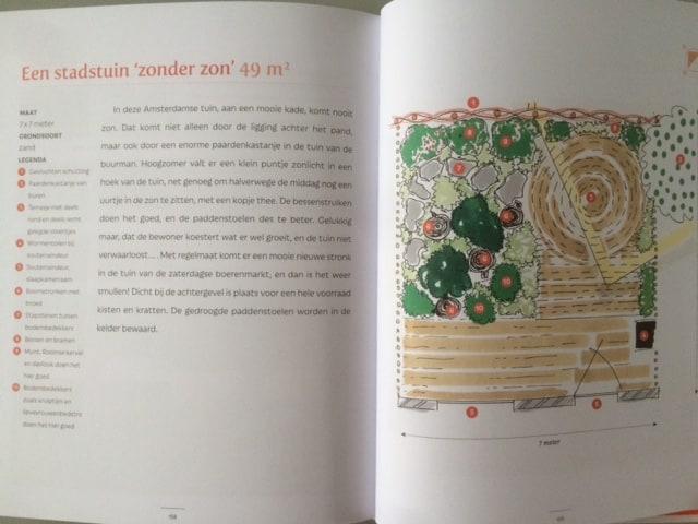 kleine eetbare tuin boek spread