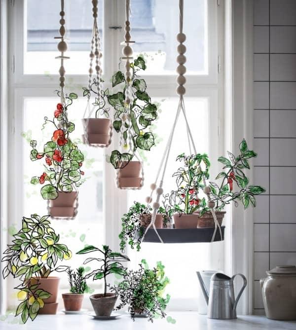 duurzame hydrocultuur kweekset van ikea tuin en balkon. Black Bedroom Furniture Sets. Home Design Ideas