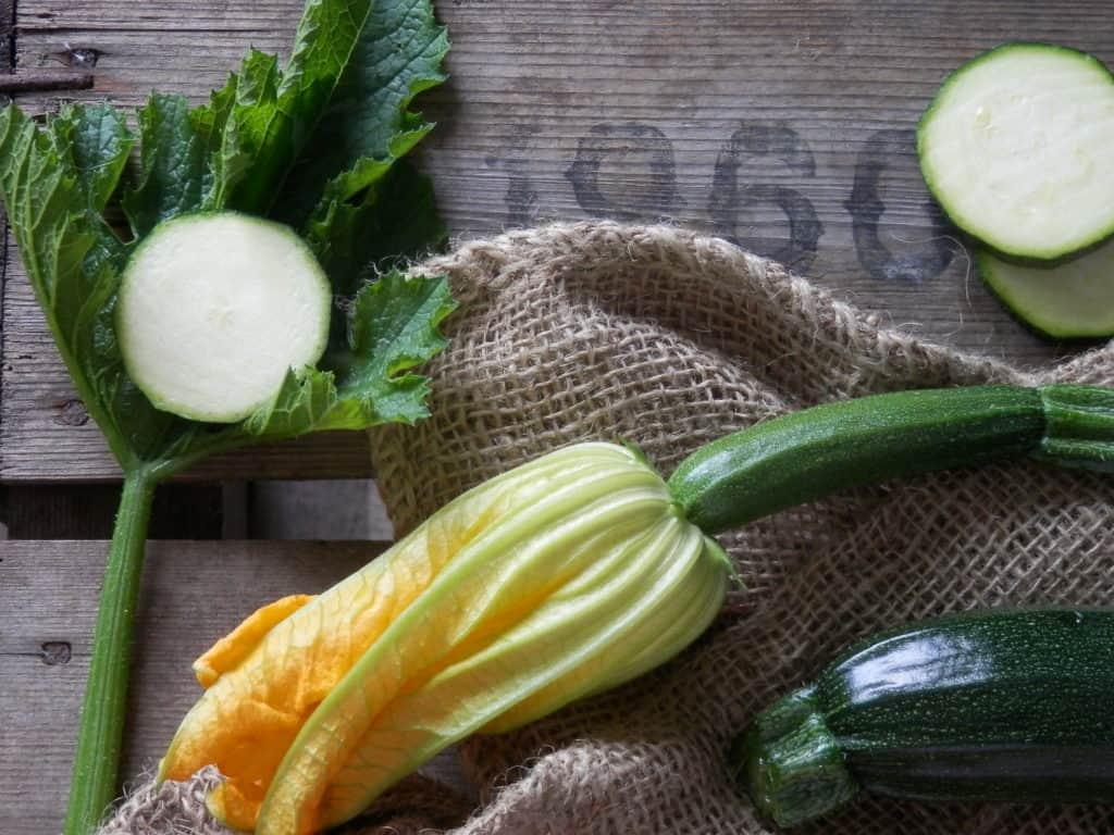 Makkelijke groenten in de moestuin