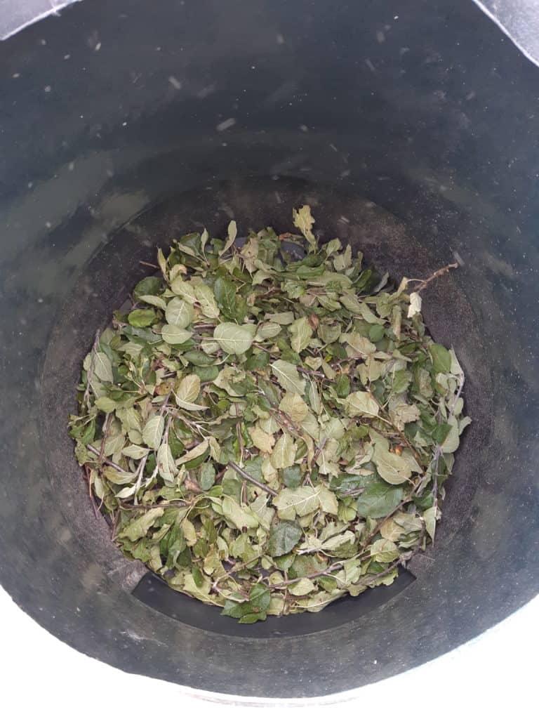 Composthoop opstarten